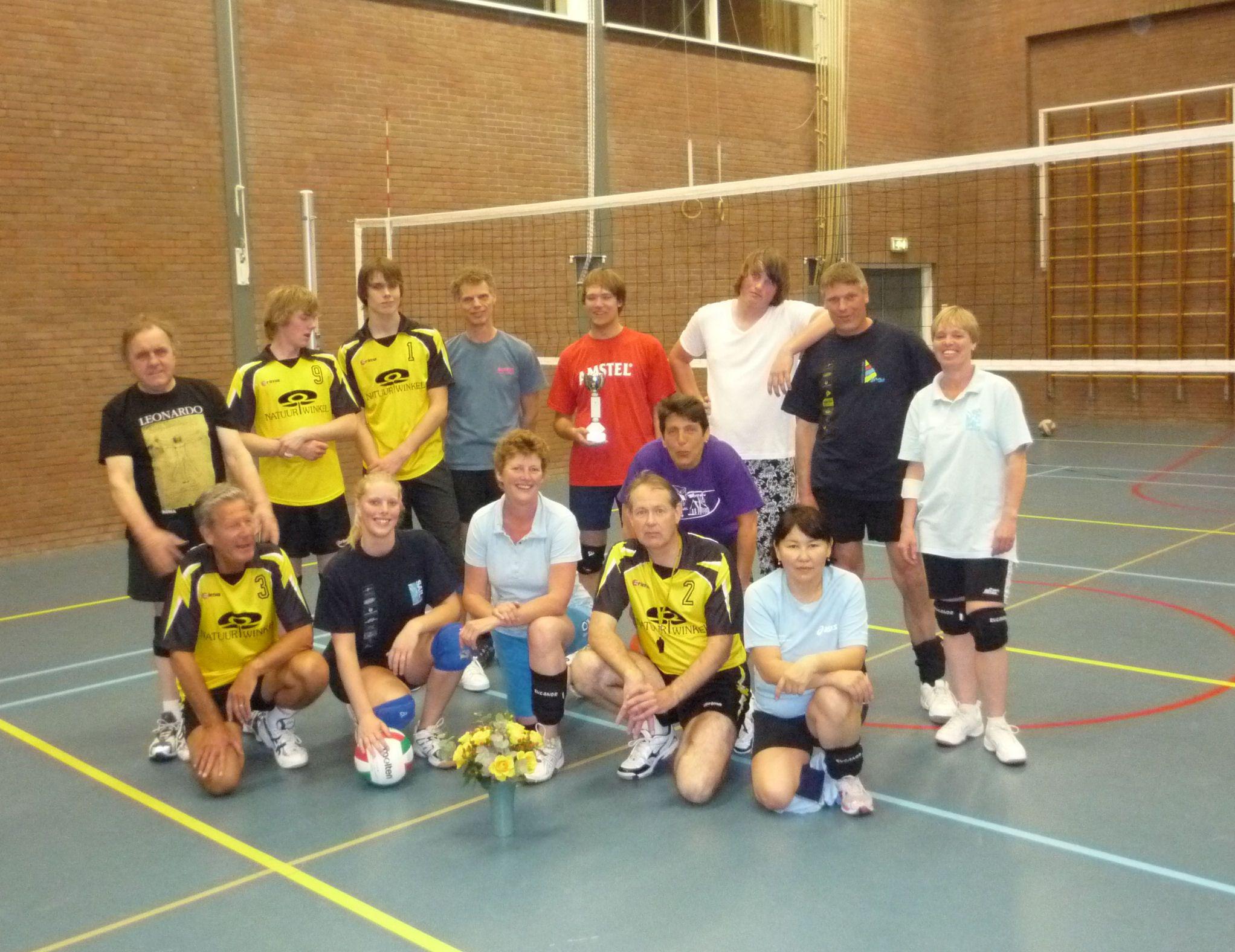 volleybal Recreanten Schoorl seizoen 2010-2011