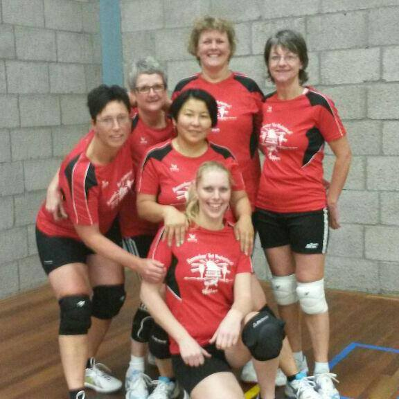 volleybalteam dames